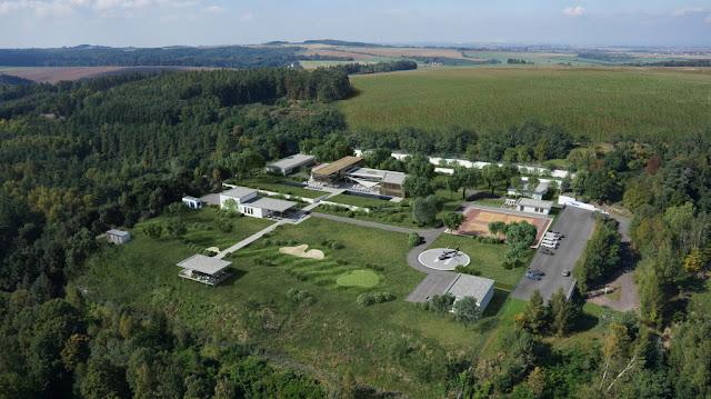 Image Top View The Oppidum : Billionaire Bunker :The Czech Republic