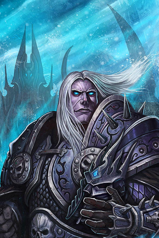 Prince Arthas by Dark ONE | WoW Phone Wallpapers