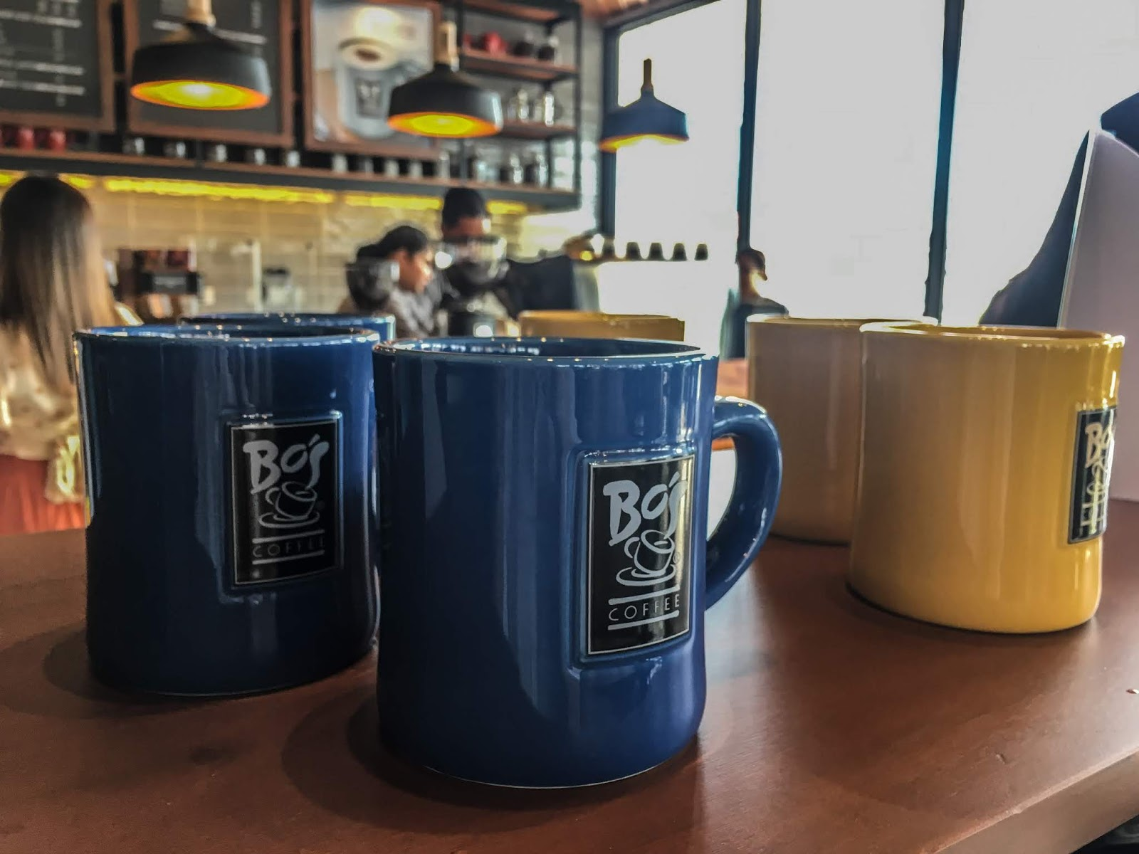 Bos Coffee Mactan Town Center Coffee Mugs