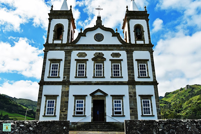 Iglesia en Fazenda de Santa Cruz, isla de Flores (Azores)