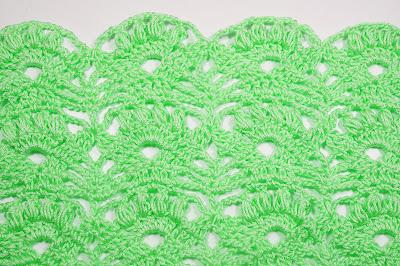3 - Crochet Imagen Punto fantasía pra faldas y blusas muy fácil y sencillo por Majovel Crochet