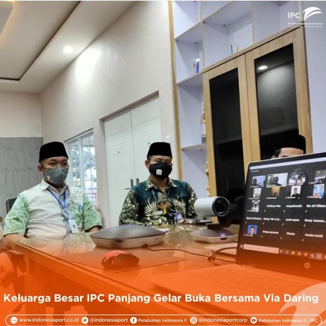 IPC Panjang Bandar Lampung Buka Puasa Bersama Via Online