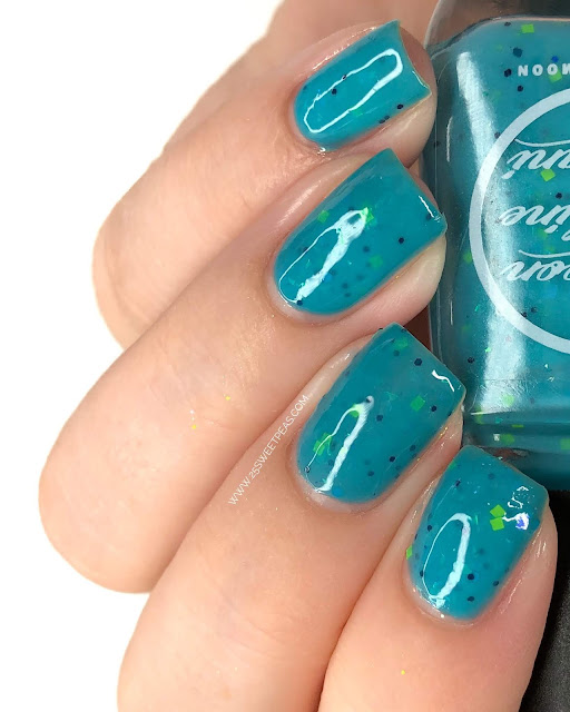 Moon Shine Mani Honor's Ocean Wave