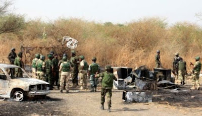 Forty foreigners caught at the end of Sambisa forest