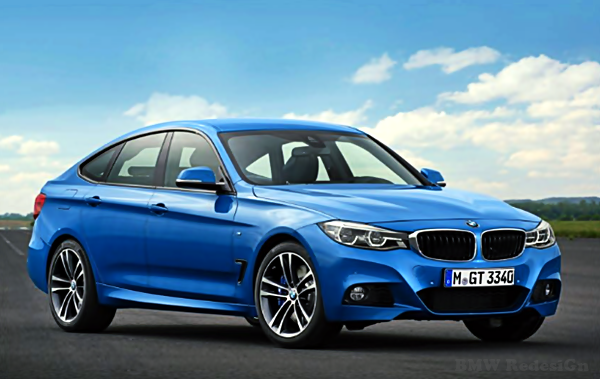 BMW 3 Series GT Facelift Redesign