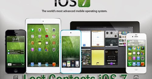 iphone missing contacts iphone ipod touch data recovery ios 7 lost contacts 4676