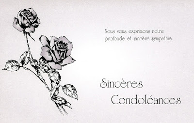 Texte De Condoléances gratuite