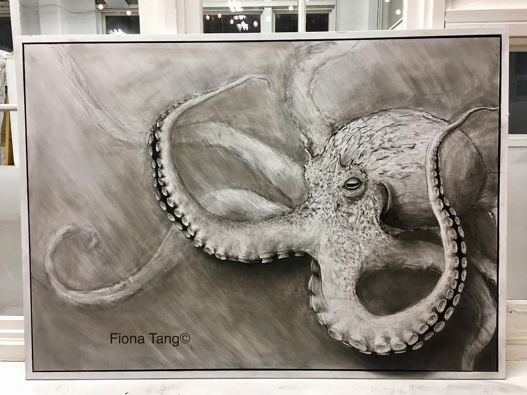 09-Octopus-Fiona-Tang-2D-Sketches-that-Become-3D-Animals-www-designstack-co