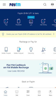 Earn Flat Rs.30 Cashback on Bill Payment Rs. 100 or more