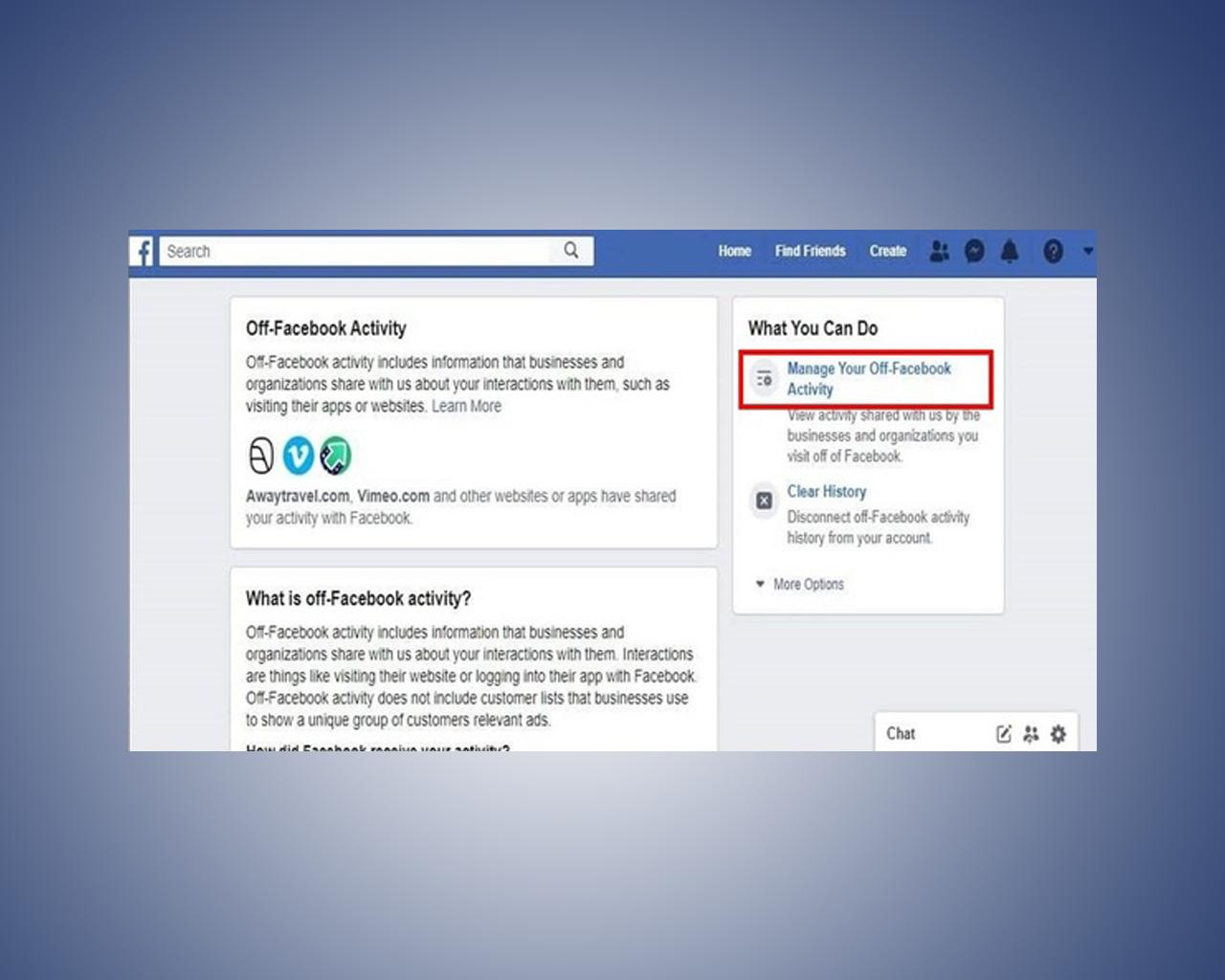 الميزة الجديدة المقدمة من فيسبوك لإيقاف تتبع نشاطاتك من جهات خارجية