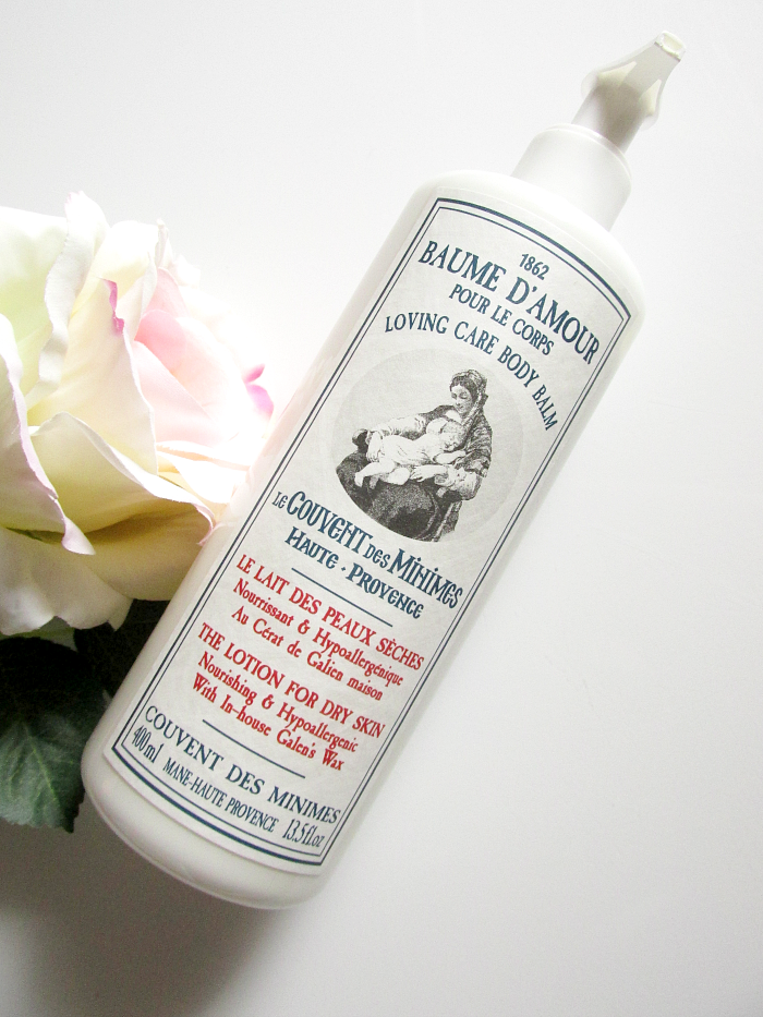 Review: Le Couvent des Minimes Baume d´Amour - The Lotion for Dry Skin - 400ml - 32.00 Euro