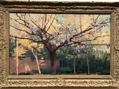 John Russell painting, The Garden, 1887, AGNSW exhibition 2018