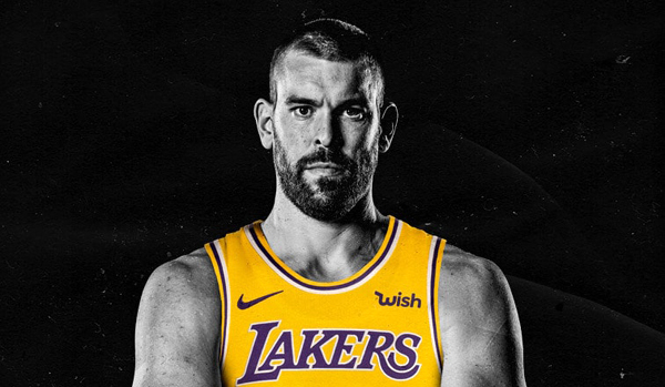 Marc Gasol will play for the Los Angeles Lakers during the 2020-'21 NBA season.