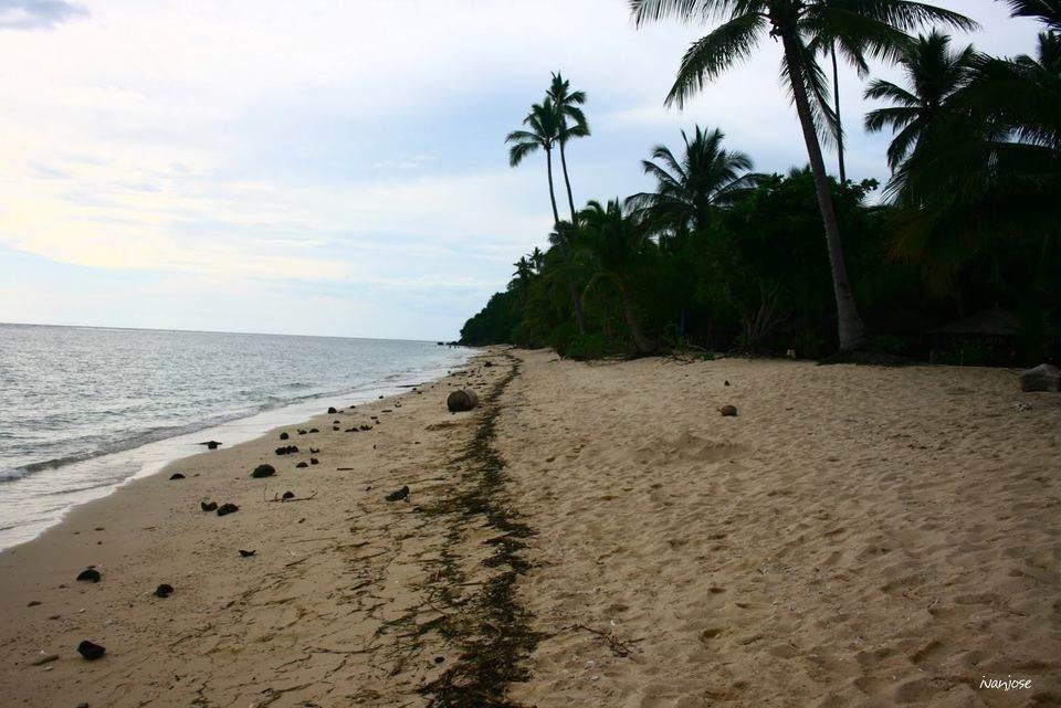 White sands of Sarangani Bay in Mindanao
