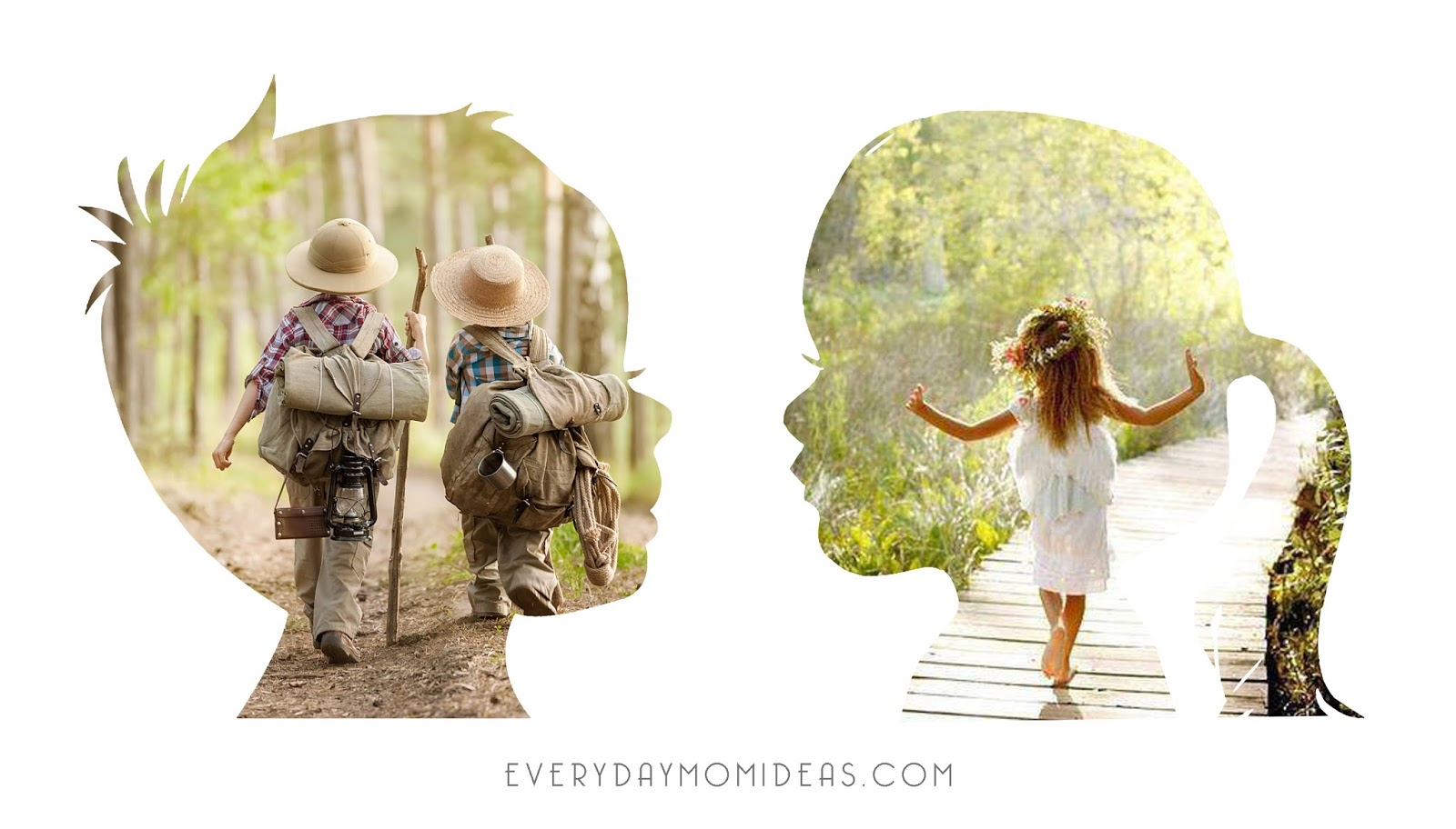 Crop any photo into a silhouette of your kid easy four step these photo filled silhouettes make beautiful custom artwork and they only take a few minutes to create in photoshop this is an easy four step photoshop baditri Images