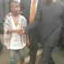 Meet The Boy Who Broke Through The Crowd To Shake Acting President Osinbajo's Hand
