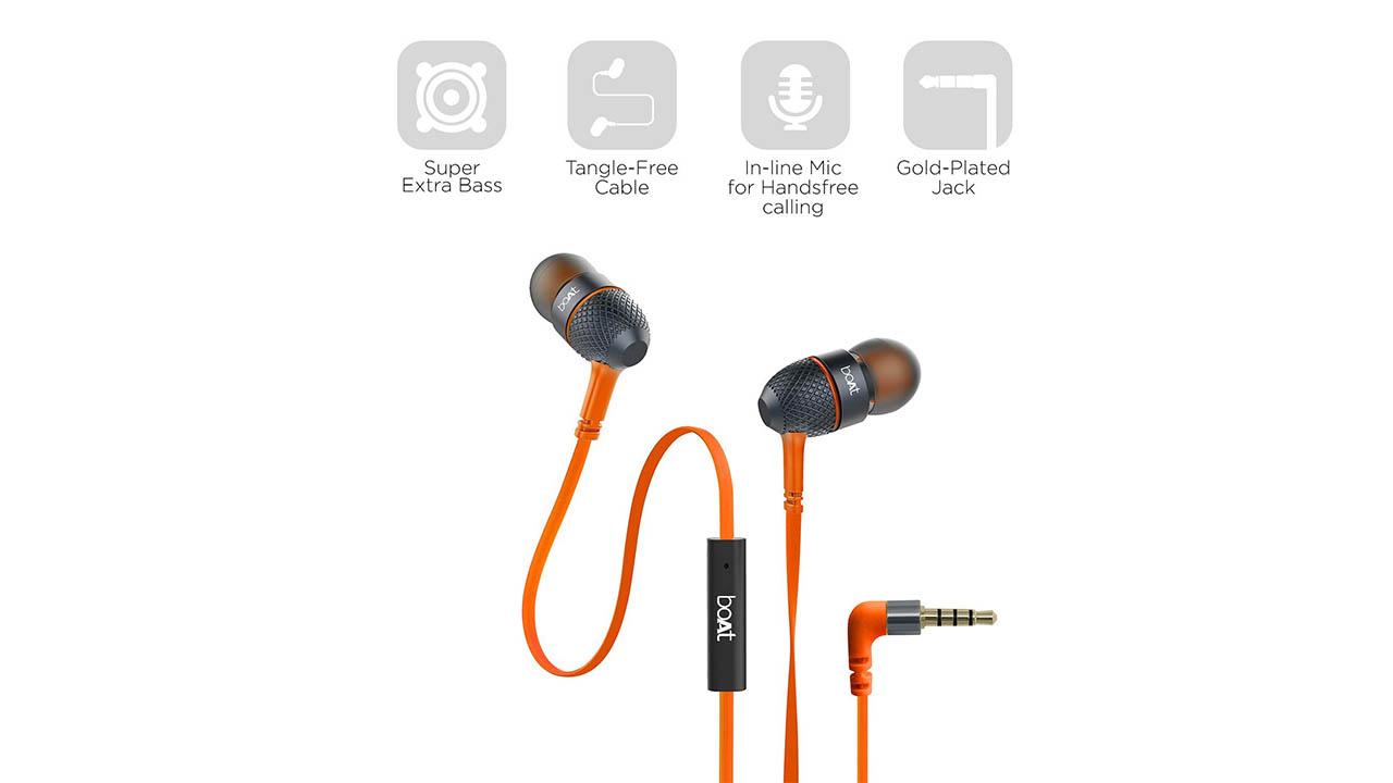 boAt BassHeads 225 Wired Earphones