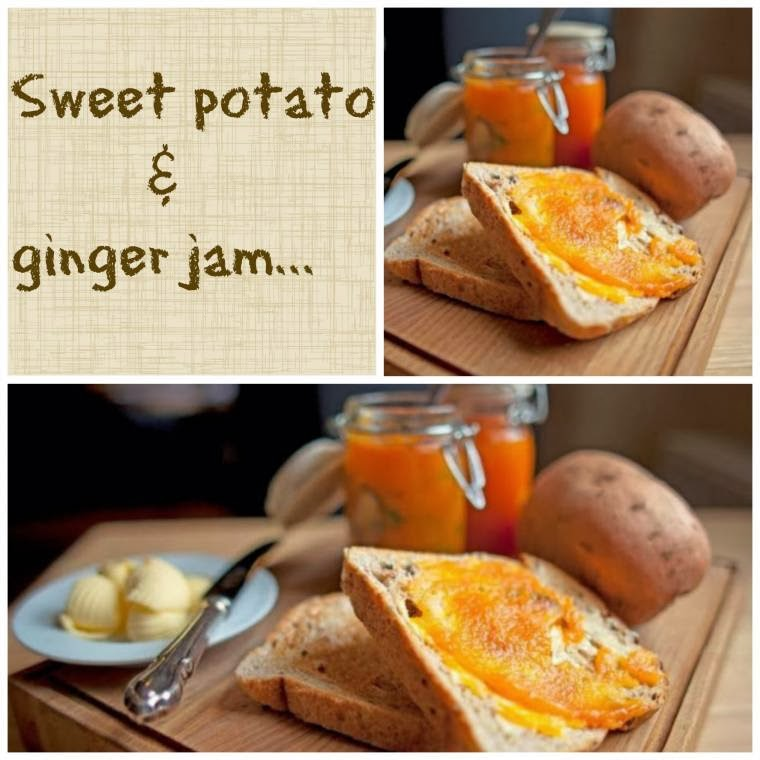 Sweet Potato And Ginger Jam Recipe: Afternoon Tea Recipe