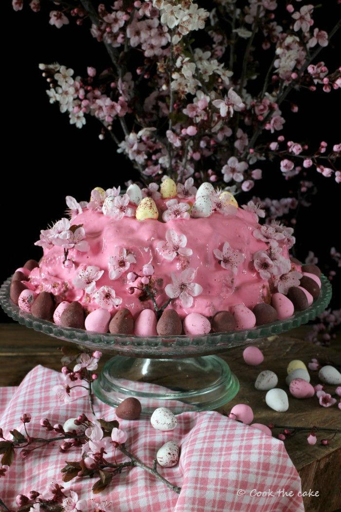 easter-bundt-cake, bizcocho-de-pascua, bizcocho-de-vainilla