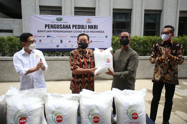 Aksi Sinar Mas dalam Membantu Menangani Pandemi COVID-19