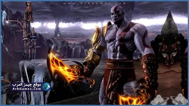 تحميل لعبة God Of War 3 للكمبيوتر مضغوطة من مبيديا فاير