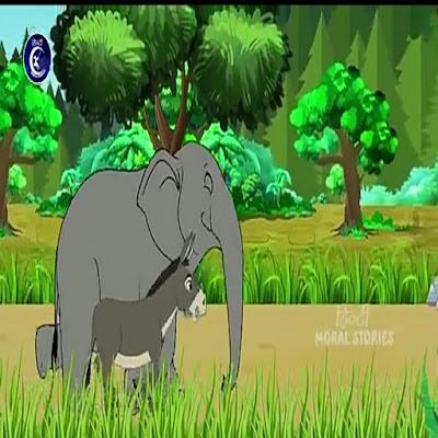 Hindi moral kids story : (जंगल की कहानियां )    गढ़ा और भेड़िया
