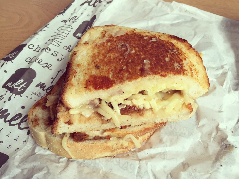 Grilled cheese toastie from Melt Aberdeen