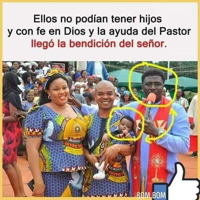 Ellos no podían tener hijos,fé, Dios,bendición,pastor,negro