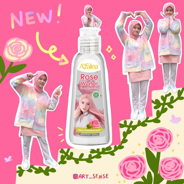 Review Pengalaman Menggunakan Azalea Deep Hydration Rose Water untuk Toner dan Maskeran di Rumah!