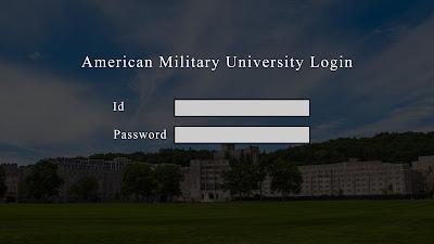 American Military University Login