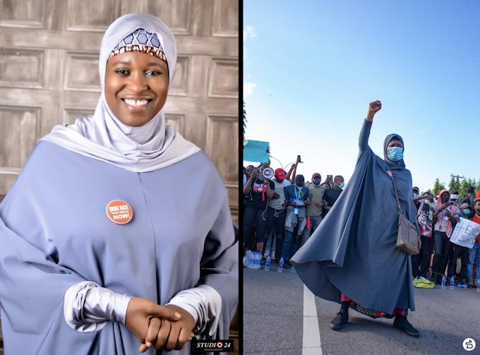 Aisha Yesufu celebrates 47th birthday in style