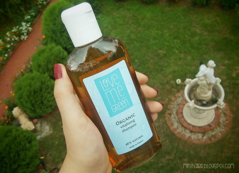 Organiczny szampon do włosów - LOVE ME GREEN