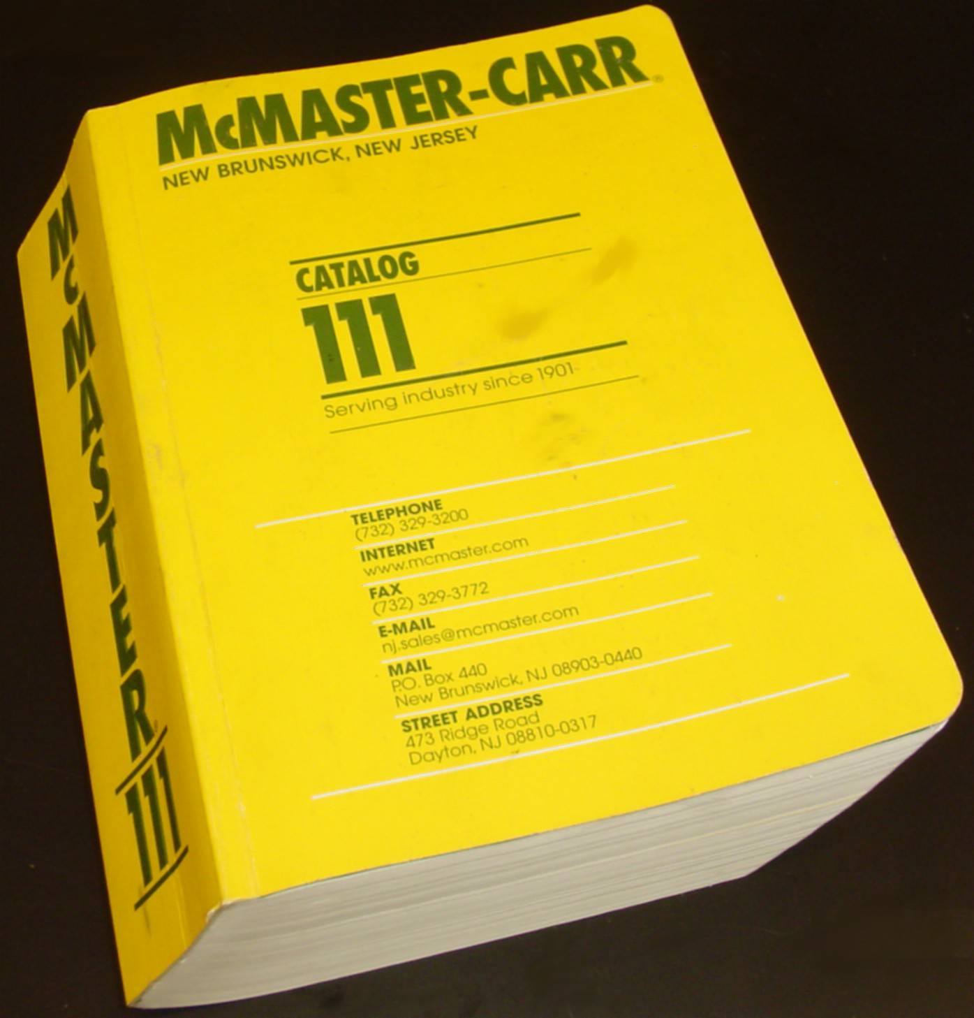 McMaster-Carr - Celso White