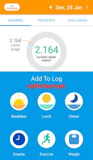 Menghitung kalori suatu makanan dengan kamera android