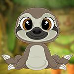 Games4King Dexterous Little Sloth Escape