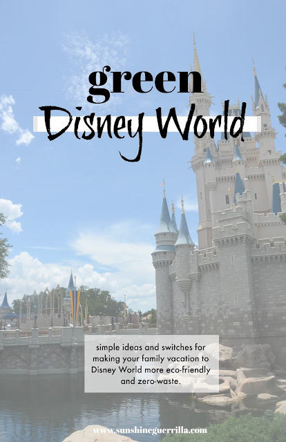 eco-friendly and zero-waste disney vacation