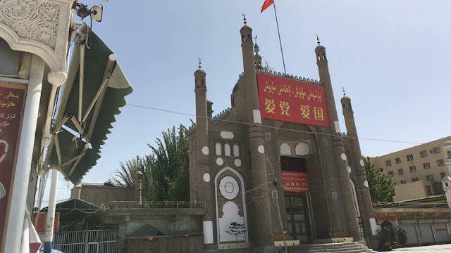 Masjid di China Diubah Menjadi Toilet Umum