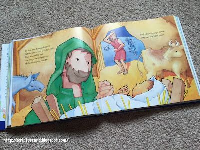 The Christmas story in The Big Picture Story Bible
