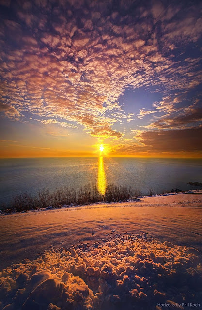 Winter Sunrise ~ Marvelous Nature
