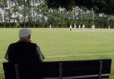 Retired umpire Peter Douce pictured while spectating during Brigg Town Cricket Club's 22-run home win over Messingham 2nds at the Recreation Ground last Saturday (July 20).
