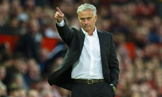 Jose Mourinho is under pressure to win a trophy with United this season
