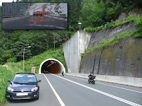 Austria, Location of James Bond 007 - The Living Daylights, tunnel, Aston Martin chase