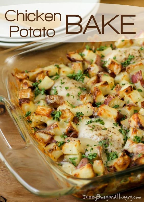 CHICKEN POTATO BAKE #recipes #dinnerrecipes #deliciousdinnerrecipes #fastdeliciousdinnerrecipes #food #foodporn #healthy #yummy #instafood #foodie #delicious #dinner #breakfast #dessert #lunch #vegan #cake #eatclean #homemade #diet #healthyfood #cleaneating #foodstagram