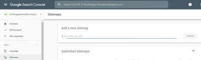 Blogspot Domain Ke Liye Sitemap Generate Kaise Kare?