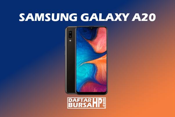 Harga dan Spesifikasi Samsung Galaxy A20 Terbaru 2019