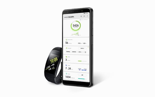 Fitur Samsung Health, Samsung Galaxy A7