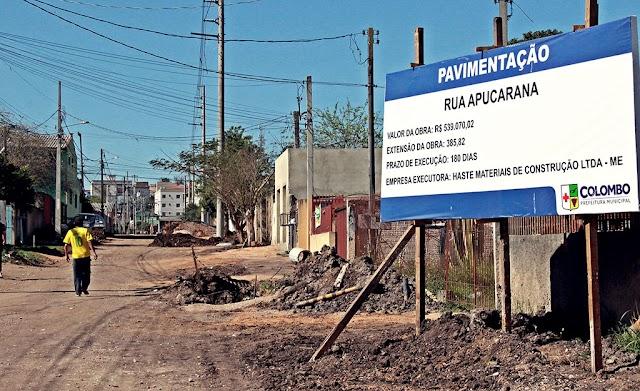 Obras de drenagem são finalizadas na rua Apucarana no Guaraituba