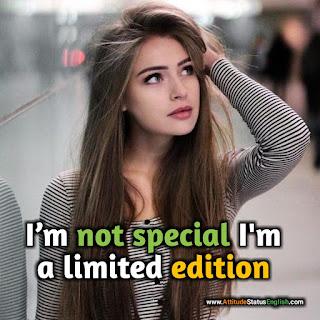 Attitude Status Girl Stylish