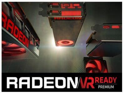 VR顯示卡AMD RX 480