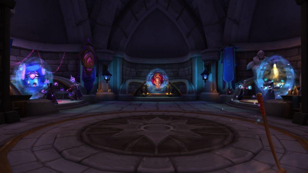 The portal chamber has many abbreviations.